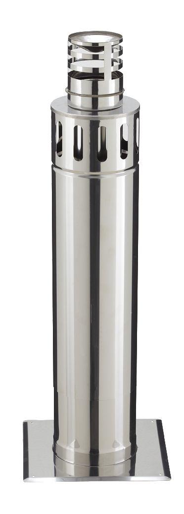 Terminal horizontal réglable PGI, diamètre 80 / 130 mm STHR 80 / 130 PGI / réf. 37080783