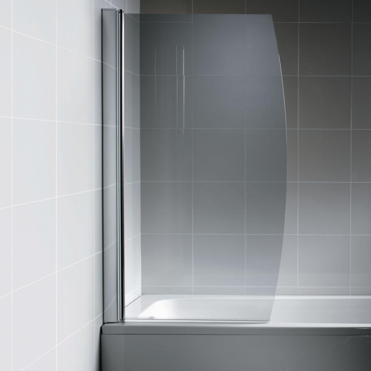 Salle De Bain Kramer ~ pare bain courbe connect paisseur du verre 6 mm r f l6211aa
