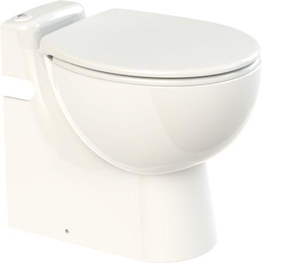 Broyeur SANICOMPACT PRO intégré au WC au sol