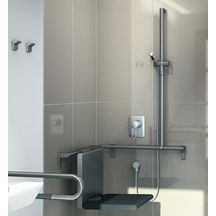 Main courante douche 600 x 1200 mm 700.485.060 anthracite Réf 7485060095