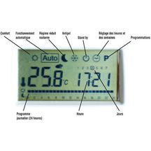 S�che-serviettes CONCERTO 2 blanc �lectrique 1516x606 1000 watts thermostat � radiofr�quence