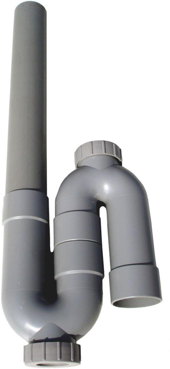 Siphon machine à laver ALTECH simple, sortie verticale