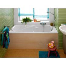 baignoire prima 150x70 cm blanc acrylique 000 r f 86500000 allia sanitaire cedeo. Black Bedroom Furniture Sets. Home Design Ideas