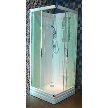 cabine de douche concerto 2 80 x 80 cm acc s d 39 angle coulissant alterna sanitaire brossette. Black Bedroom Furniture Sets. Home Design Ideas