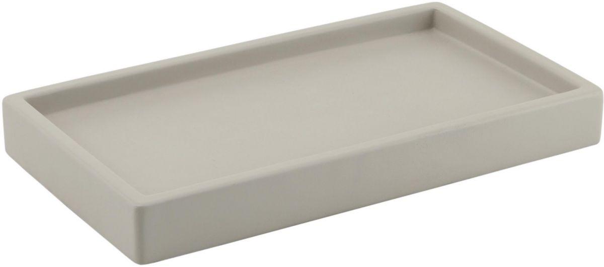 Plateau porte-objets GIUNONE gris réf. 41060800000