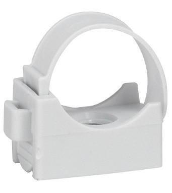 Attache pour tubes IRL avec cheville - ø 20 mm - sachet de 15 pièces