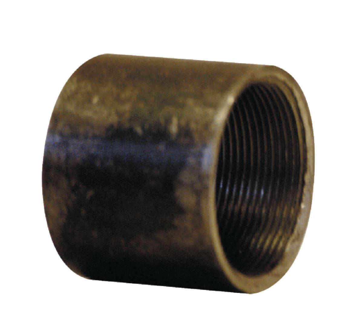 Manchon 2701 tube soudé filetage cylindrique longueur 26mm galva D12x17 réf 2701012G