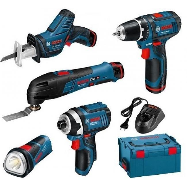 Kit 5 outils 12V Li-ion réf. 0615990GE8