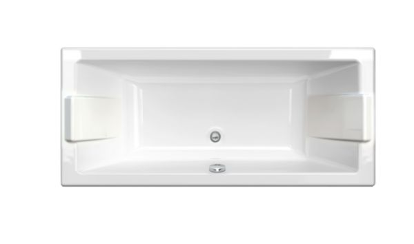 Baignoire rectangulaire PREFIXE en acrylique, 170x75cm