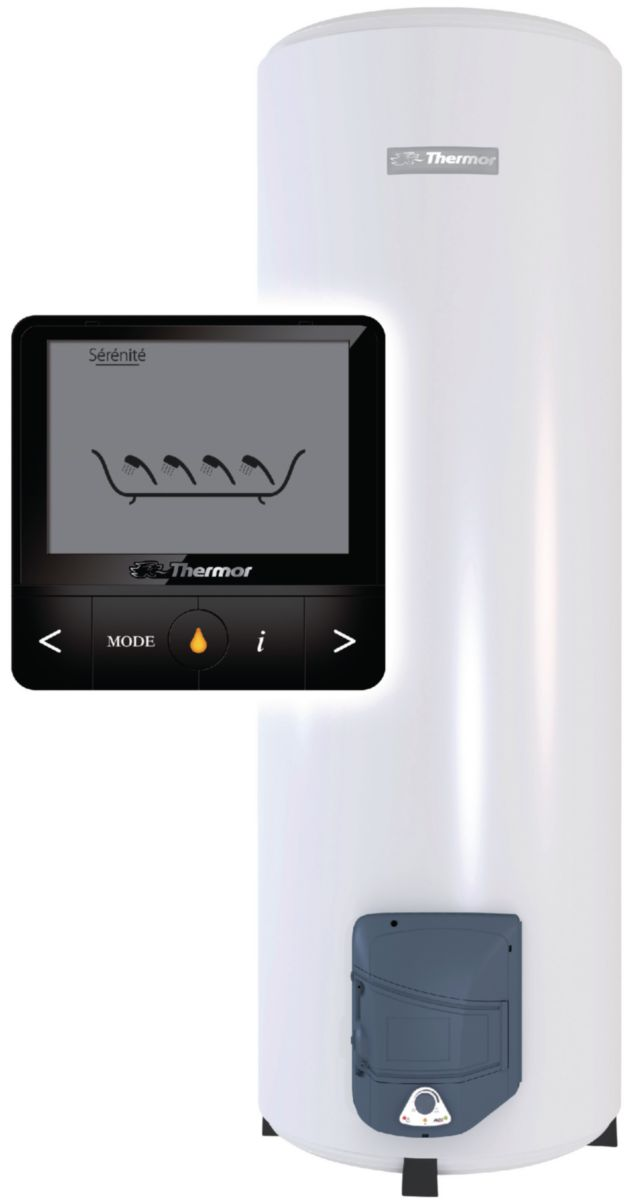 Chauffe Eau Électrique Visualis 200 Litres Sur Socle Vertical Aci