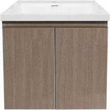 meuble sous vasque primeo 70 cm 2 portes suspendu bois alterna sanitaire cedeo. Black Bedroom Furniture Sets. Home Design Ideas