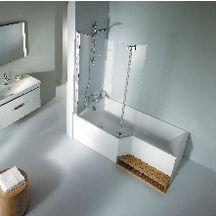 Tablier frontal et latéral en aluminium couleur blanc Réf E6D135-00