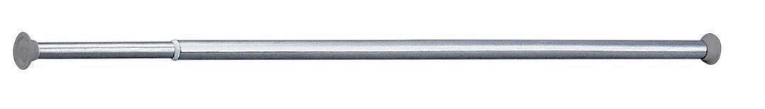 Porte-rideau de douche droit télescopique de 0,76 m à 1,26 m, tube D ...