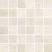 Grès cérame Keraben Uptown beige mosaïque 30x30cm GJM04001