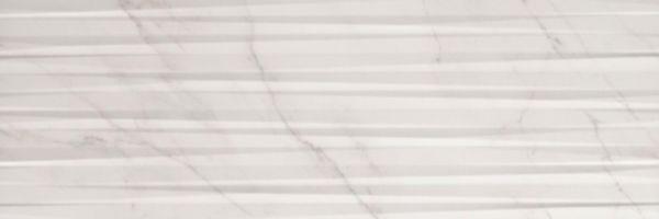 Faïence Keraben Evoque concept blanco mat décor 30x90cm KJNPG030