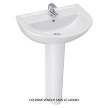 Porcher Colonne De Lavabo Ulysse 2 Blanc Réf P204201 Brossette