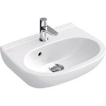 lave mains compact o novo 45 x 35 cm en porcelaine avec trop plein blanc r f 53604501. Black Bedroom Furniture Sets. Home Design Ideas