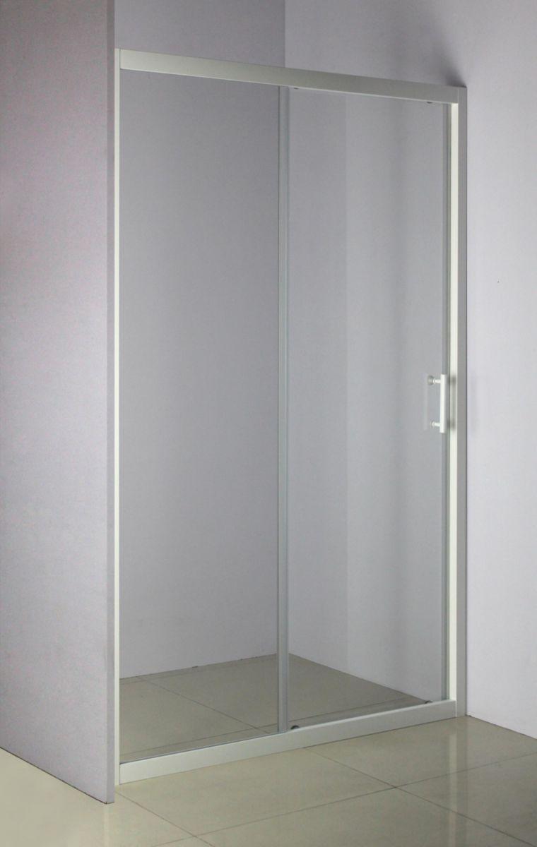 Paroi de douche VERSEAU accès de face coulissant 2 vantaux 120 cm