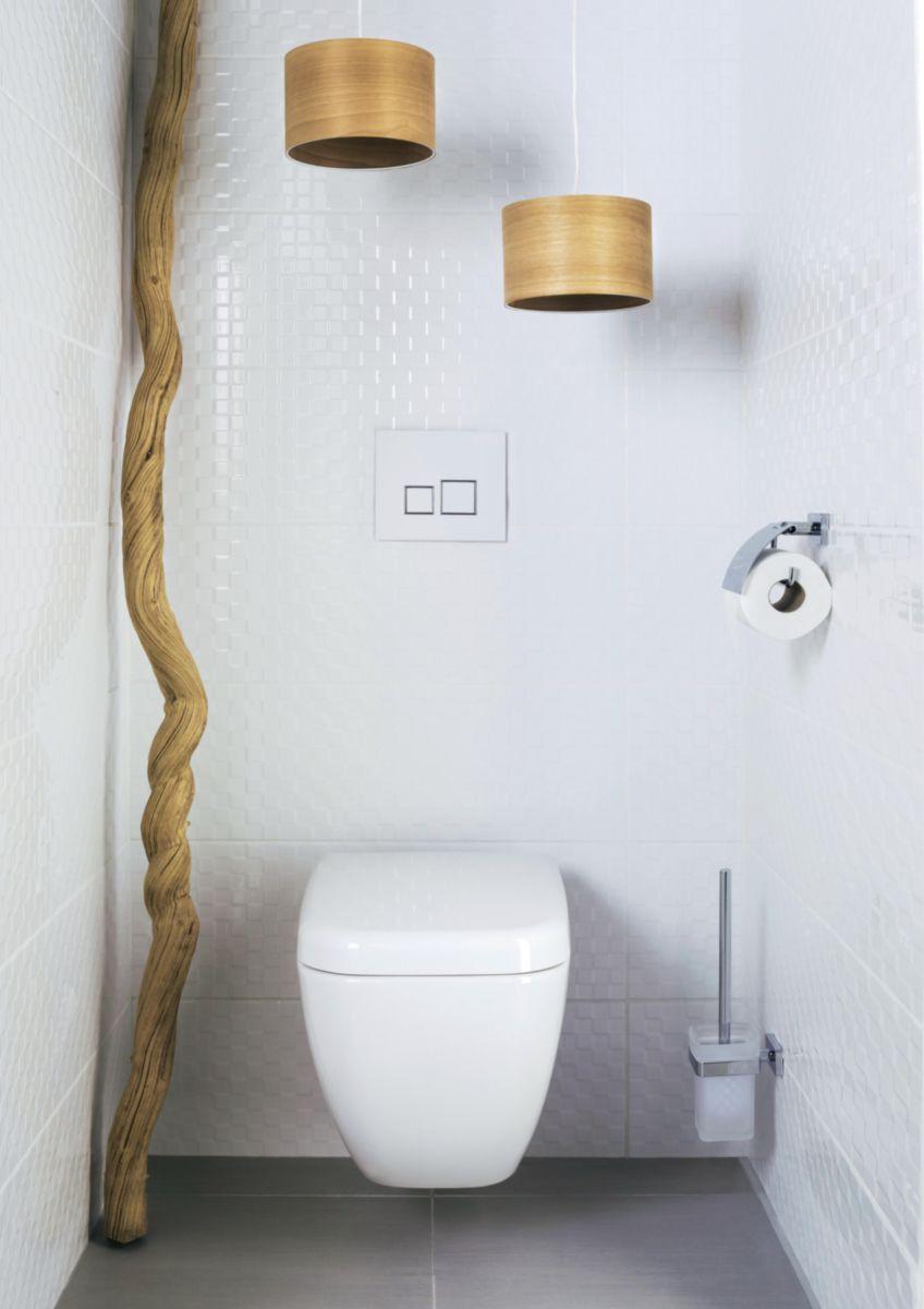 Pack WC suspendu Daily C sans bride abattant frein de chute