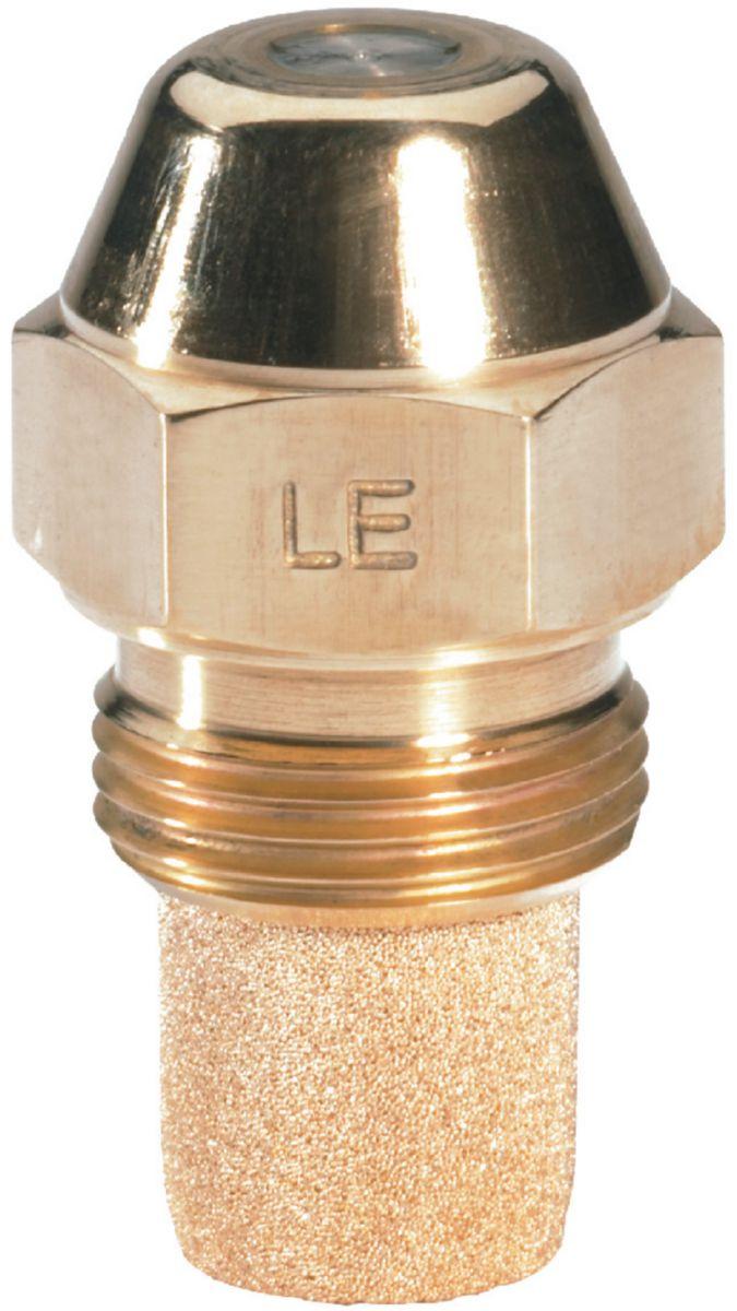 Gicleur LE type S 0,40 US/gal 60° Pulvérisation cone plein, livré complet avec sa vanne d'arrêt intégrée et son filtre réf. 030F6704