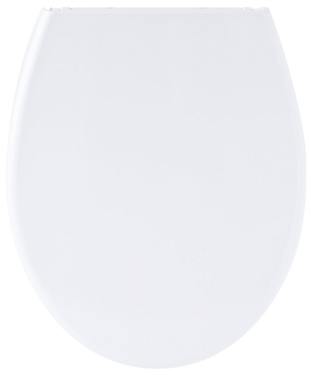 Abattant Bambino double blanc declipsable descente assistee avec siege enfant réf. 7GC900101