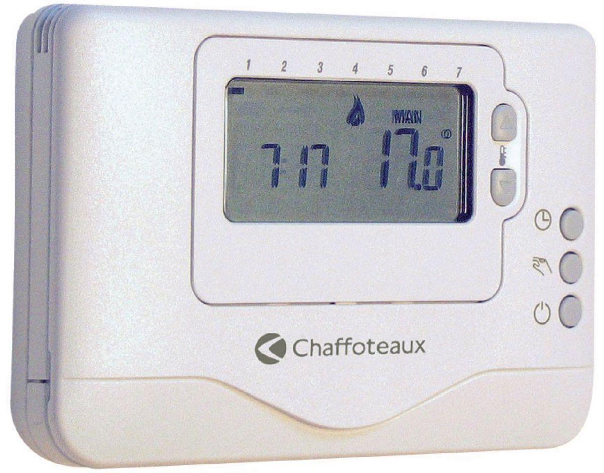 thermostat programmable sans fil easy control r f 3318602 chaffoteaux. Black Bedroom Furniture Sets. Home Design Ideas