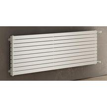 radiateur deco horizontal simple eau chaude 568x1220 blanc. Black Bedroom Furniture Sets. Home Design Ideas