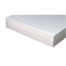Tablier pour receveur Space line rectangle 80x120 blanc L réf L22SL3R0812T