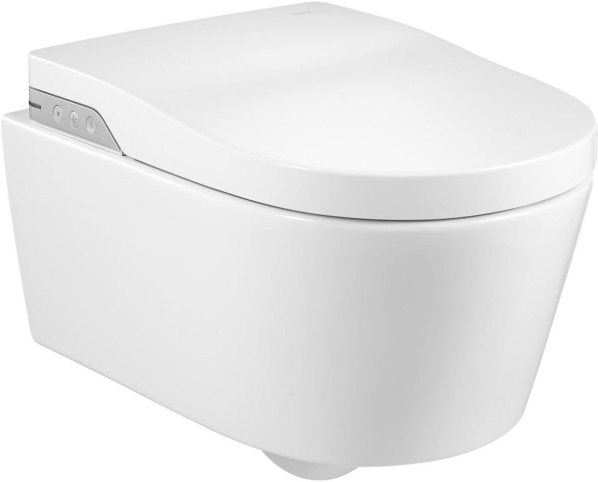 roca wc lavant suspendu in wash inspira blanc r f a803060001 cedeo. Black Bedroom Furniture Sets. Home Design Ideas