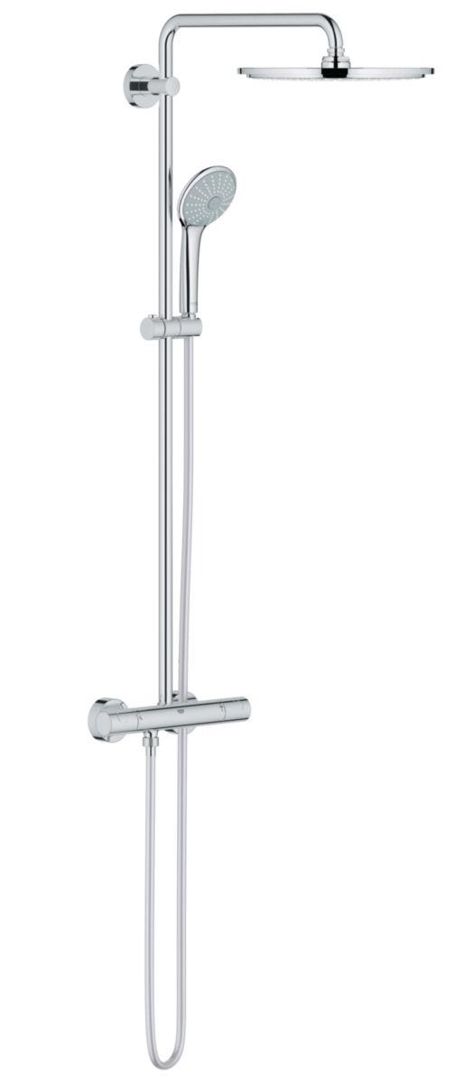 Colonne de douche EUPHORIA System thermostatique, 310 mm, chromé réf. 26075000
