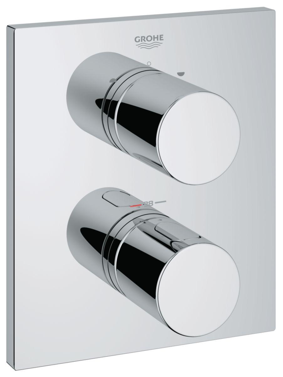 Facade Pour Mitigeur Thermostatique Bain Douche Grohtherm 3000