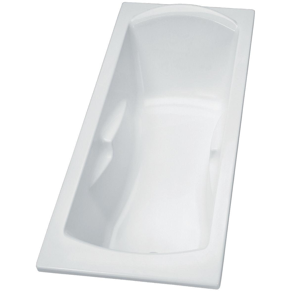 Baignoire A Encastrer Ou A Poser Ulysse 2 180x80cm Blanc Ref