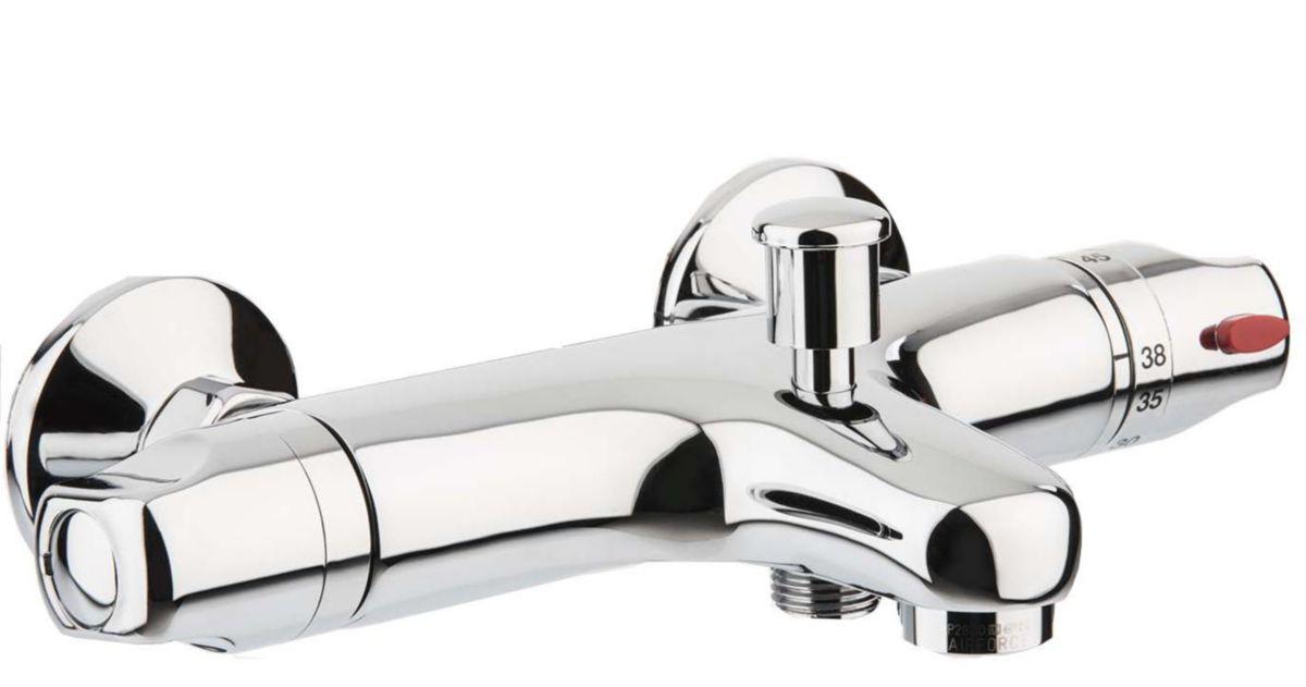 alterna mitigeur thermostatique bain douche primeo 3 cedeo. Black Bedroom Furniture Sets. Home Design Ideas