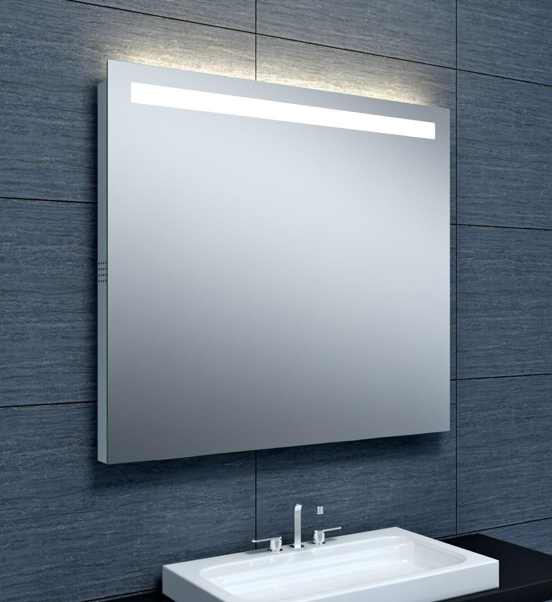 Alterna miroir musik clairage led bluetooth 90 x hauteur 80 cm cedeo for Miroir 50 x 90