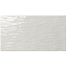Carrelage mural intérieur faïence My Wall White glossy - 25x46 cm