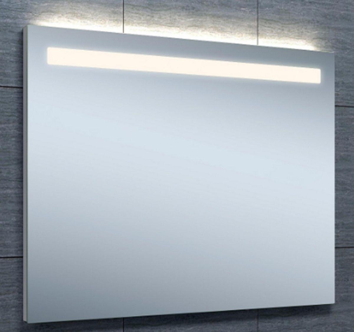 Alterna miroir newyork clairage led 90 x hauteur 70 cm cedeo for Miroir 50 x 90