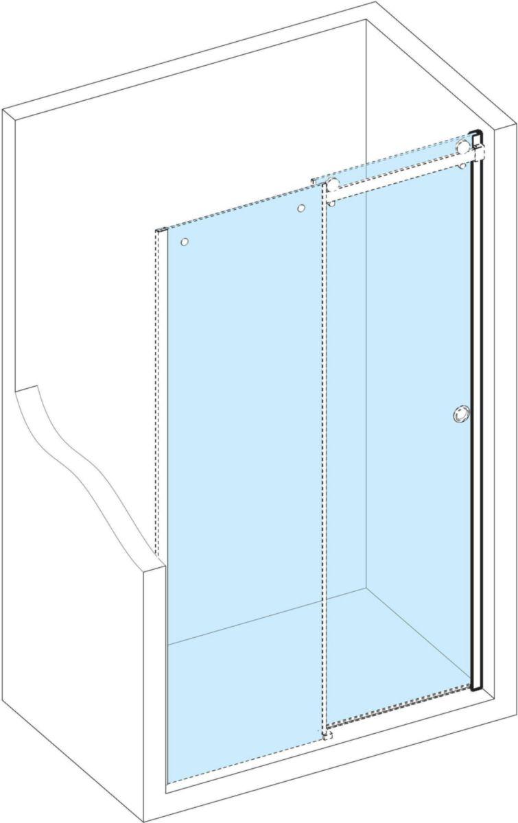 Set Pour Installation En Niche Paroi De Douche Design Alterna