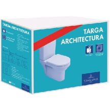 Pack WC complet sortie horizontale ARCHITECTURA Blanc 5677H701