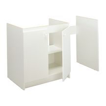 meuble cuisinette m lamin pour lave vaisselle paisseur 16mm 1 tag re 2 portes v rins de. Black Bedroom Furniture Sets. Home Design Ideas