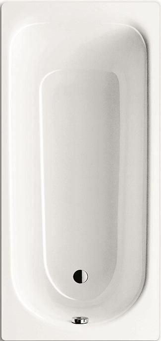 Baignoire Acier Eurowa 170x70cm Sans Pied Percee 1 Trou Blanc Ref