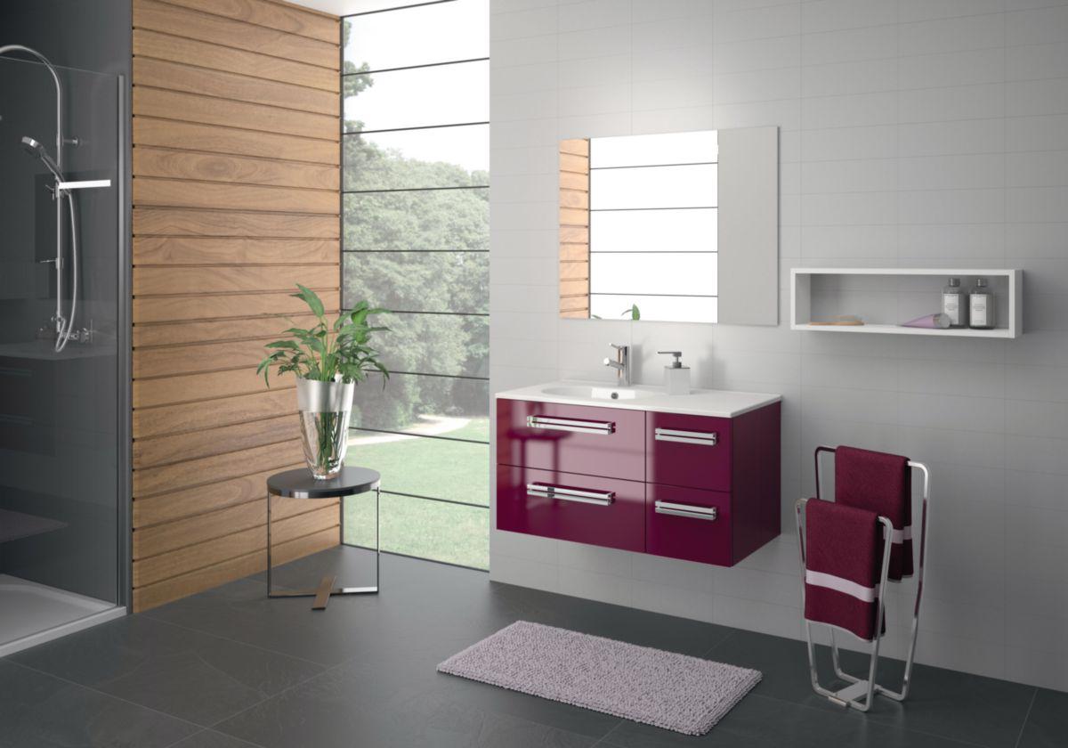 Meuble Salle De Bain Cdo ~ alterna salle de bains affordable meuble tiroirs cm woodstock bois