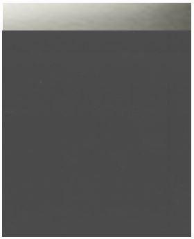 Meuble sous-vasque PLENITUDE 105 cm 2 tiroirs 1 porte pour vasque droit profondeur 50 cm Anthracite, poignée titane