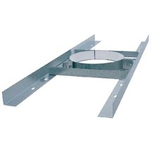 Support plancher Inox DP d125 R�f 199012