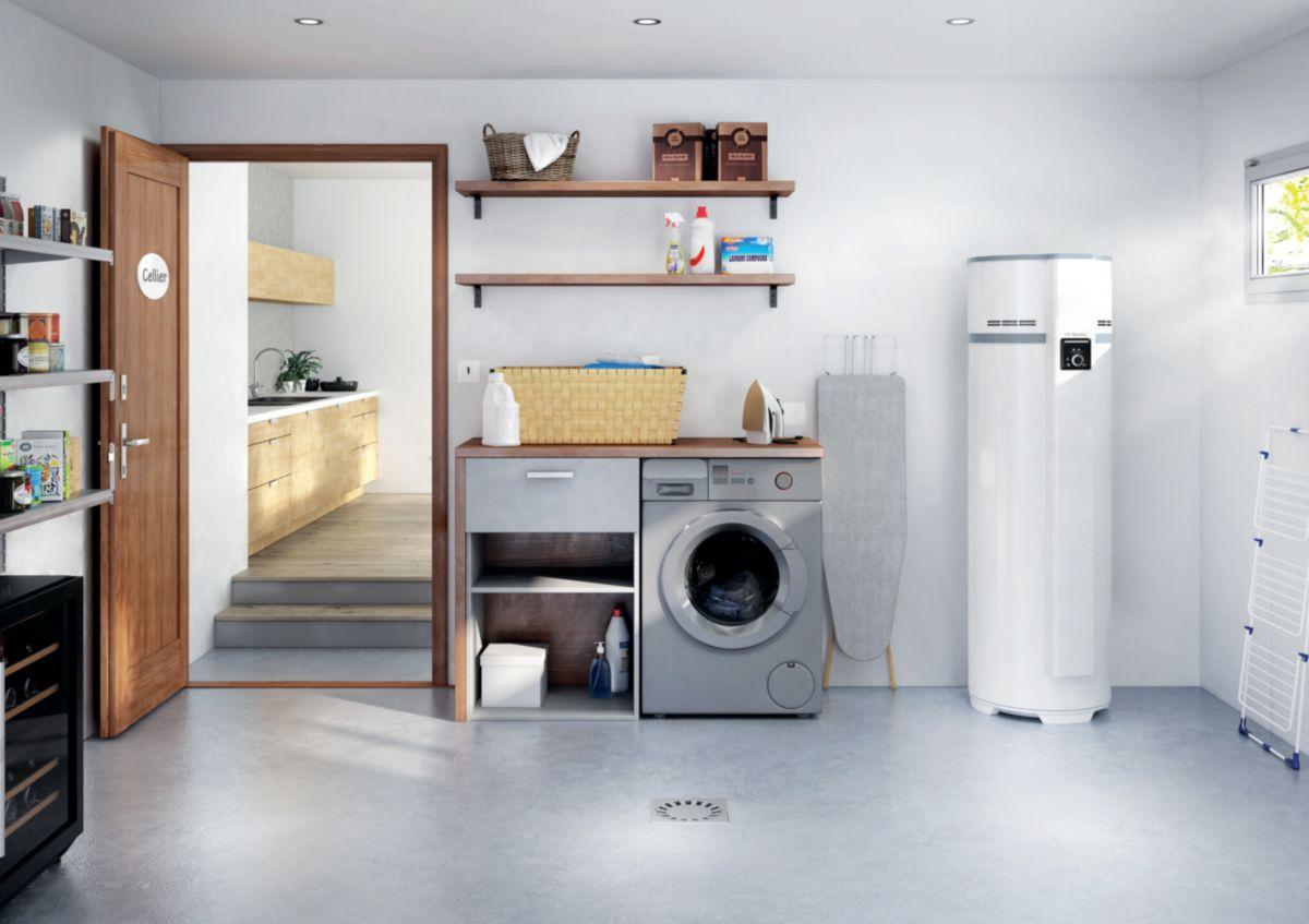 thermor chauffe eau thermodynamique airlis vs 200 l. Black Bedroom Furniture Sets. Home Design Ideas
