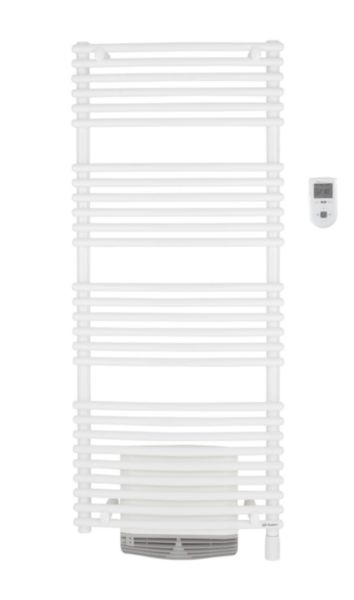 Sèche-serviettes RIVA TENDANCE électrique 750 W, avec soufflerie + 1 000 W