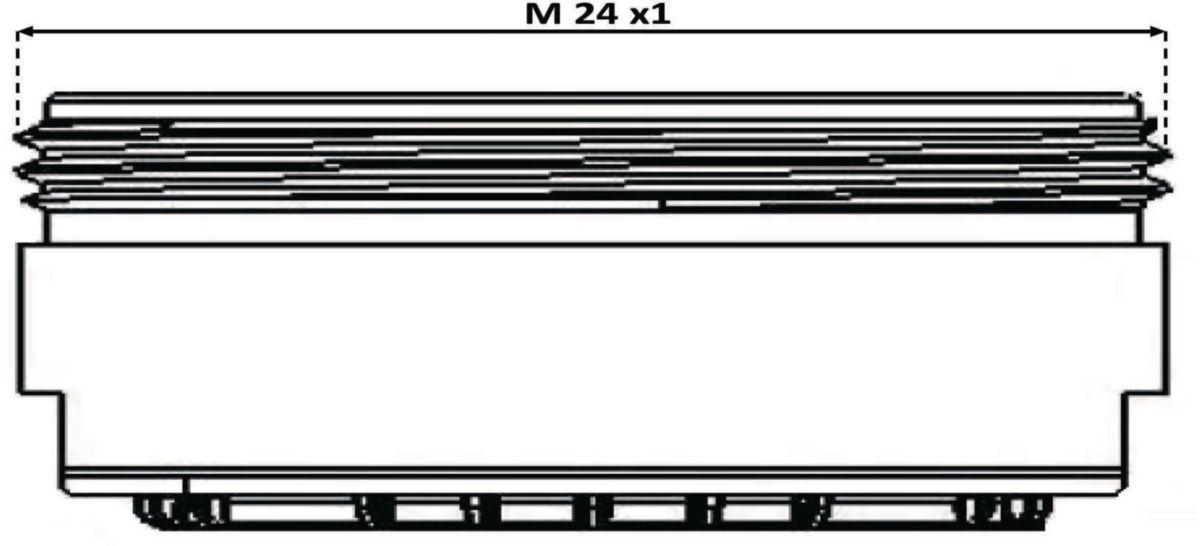 Aérateur M 24 x 1 Carte de 5