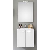 Meuble sdb meubles et accessoires de salle de bain for Meuble 2 tiroirs 120 cm woodstock laque blanc