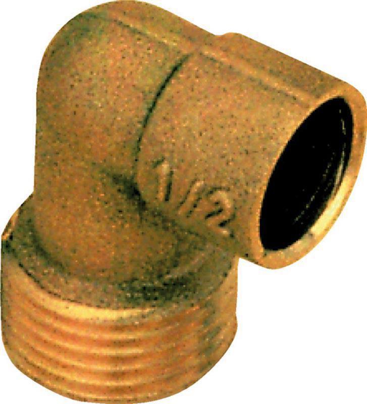 Coude mâle à souder 15x21-14 8092Gcu (sachet de 10 pièces) ALTECH