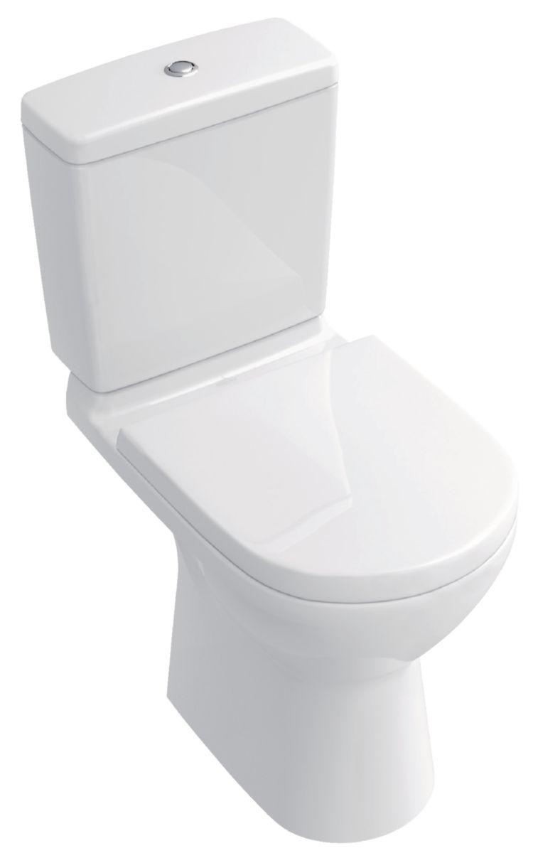 pack wc sur pied o novo plus avec cuvette sortie verticale et abattant frein de chute et. Black Bedroom Furniture Sets. Home Design Ideas