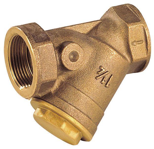 Filtre en Y à tamis taraudé BSP 1 bronze réf 202006